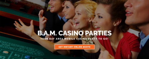 B.A.M. Casino #Parties Your Casino To Go for #Casino #Poker Parties & #Fundraisers in #San_Fransisco, #Bay_Area https://bamcasinoparties.com