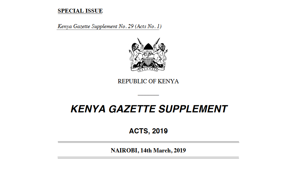 Energy Act 2019 - Kenya Highlights
